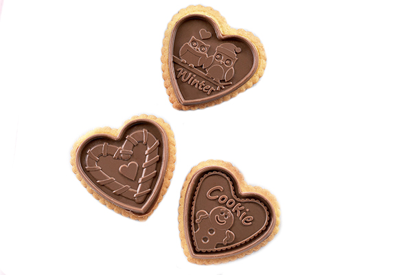 Ckc03 Cookie Hearts KIT SLIM