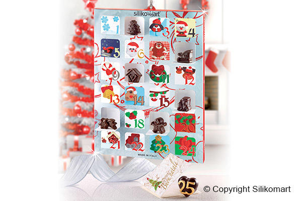 Creative Xmas Countdown gift box