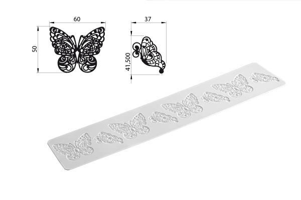 Trd02 Butterfly – 400x80 mm