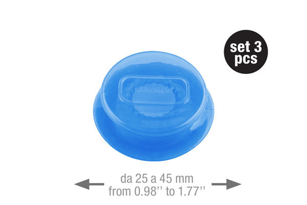 Capflex S Translucent blue – 3 pcs