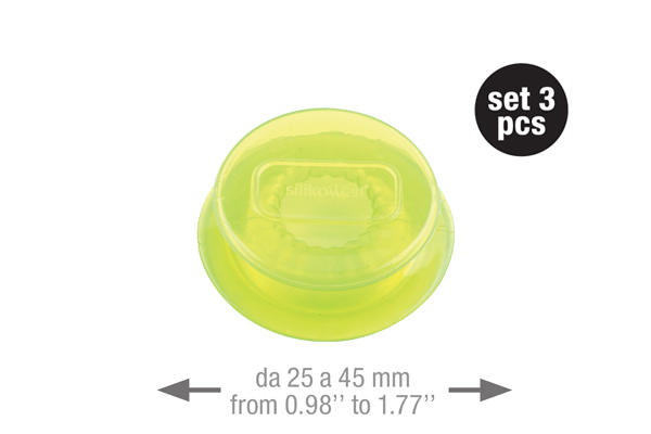 Capflex S Translucent green – 3 pcs