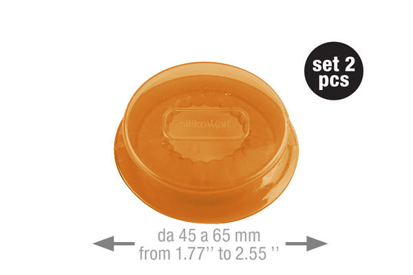 Capflex M Translucent orange – 2 pcs