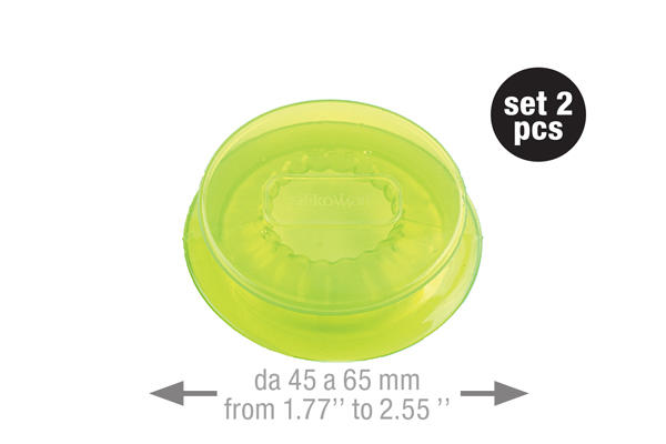Capflex M Translucent green – 2 pcs