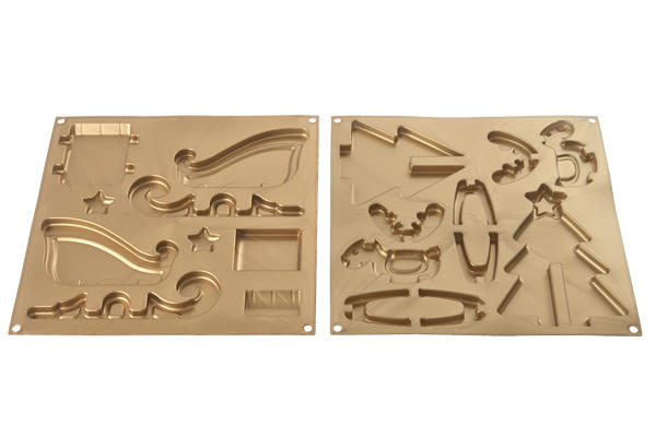 HSH 05 XMAS DREAM - SET 2 STAMPI IN SILICONE