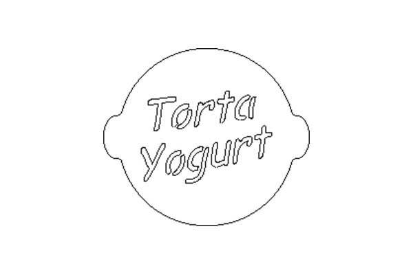 Acc055 Mascherina Torta Yogurt
