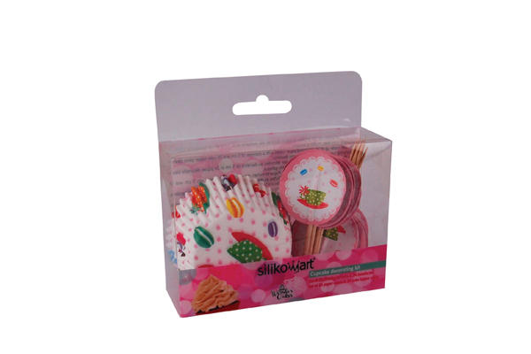 Set Pirottini e Bandierine Teatime - 24 pcs