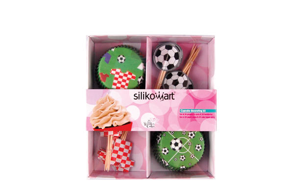 Set Pirottini e Bandierine Footbal - 24 pcs