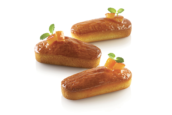 AIR PLUS 03 - SET 2 PZ STAMPO IN SILICONE N.6 MINI PLUM CAKE 40X95 H 25 MM