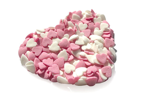 Mini Sugar Hearts 35 gr