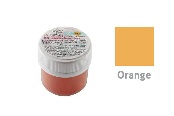 Colorante in polvere liposolubile arancio 5 gr