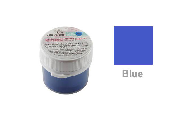 Colorante in polvere liposolubile blu 5 gr
