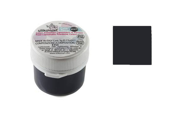 Colorante in polvere liposolubile nero 5 gr