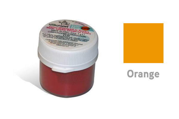 Colorante in polvere idrosolubile arancio 5 gr